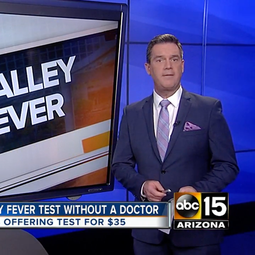ABC15 Covers Valley Fever Testing Available Through My Lab ReQuest